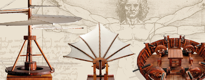 LEONARDI da VINCI INVENTIONS BROUGHT TO LIFE IN TOOWOOMBA