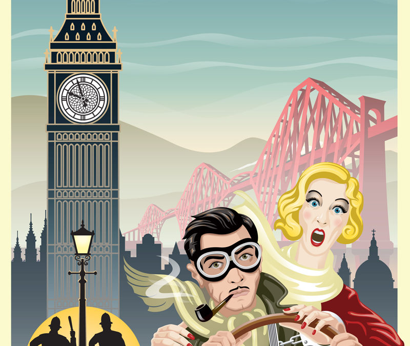 The 39 Steps at The Empire Theatre