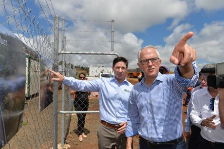 Prime Minister Surprise trip to Toowoomba