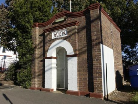 State Heritage Male Toilet Toowoomba